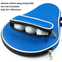 One Piece Table Tennis Rackets Bat Bag Oxford Ping Pong Carry Case With Balls Bag Professional Only Bag  30x20.5cm