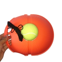 Heavy Duty Tennis Training Aids Tool Partner Base Elastic Rope 3 Balls Practice Self-Duty Rebound Tennis Trainer Sparring Device