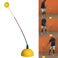 Portable Tennis Trainer Equipment Rebound Practice Training Tool Professional Rebounder Swing Ball Machine Tenis Accessories