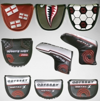 2016 New High Quality Golf Putter Cover Custom Mallet Putter Cover Golf club Headcover FREE SHIPPING