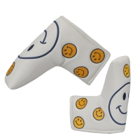 Golf head covers for golf putter fit straight white black to Choice