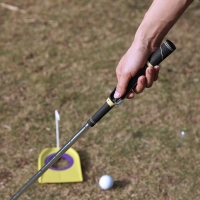 Outdoor Golf Posture Correction Outdoor Golf Swing Trainer Beginner Alignment Golf Clubs Training Grip