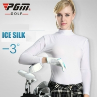 PGM Lady Sungreen Top Cool T Shirt Summer Compression Women Long Sleeve Shirt Dry Fit Ropa De Golf Mujeres Clothes