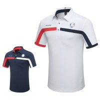 New Men Tshirt 2018 Golf Clothing Short Sleeve T-Shirt Summer Breathable Training Sport Polo Shirt High Quality
