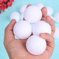 12pcs 6pcs Golf Ball Plastic Hollow Out Sports Training Tennis White Golfball Round Practice Golf Accessories for Outdoor Play