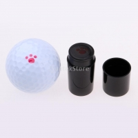 Quick-dry Plastic Colorfast Golf Ball Stamper Stamp Marker for Golf Ball Golfer Gift
