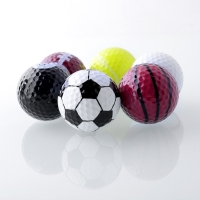 Sports golf balls double ball for golf best gift for friend Novelty Assorted Creative Champion Sports Golf Balls color golf ball