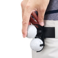 New Golf clip Golf Ball Holder Clip Organizer Golfer Golfing Sporting Training Tool Golf Accessories