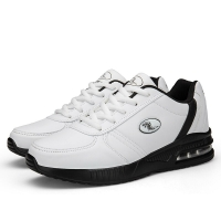 2020 New Men's Golf Shoes Leather Golf Shoes For Men White Black color