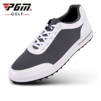 Brand Pgm Mens Golf Air Mesh Shoes Males Breathable Light Weight Golf Sneakers Soft Ventilation Pgm Sports Shoes D0349
