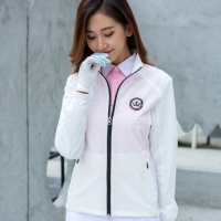 Women Sunscreen Windproof Golf Jacket Ladies Long Sleeve Thin Golf Windbreaker Breathable Tennis Sportswear D0684