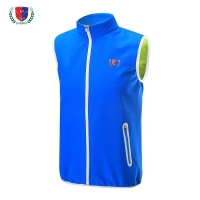 Wholesale- EVERIO golf Sportswear men's autumn winter Outdoor Golf Vest Windproof warm Fleece golf sleeveless jacket