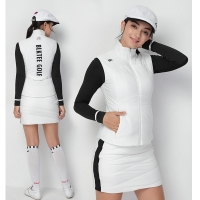 Lady Golf Vest Jacket Women Autumn Tunic Waistcoat Thermal Thicken Soft golf apparel girl outdoor golf Coat Warm  waistjacket
