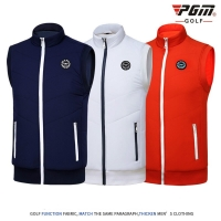 2018 PGM men's Golf t shirt golf vest cashmere warm sport vest for men Close skin soft match jersey size M-XXL
