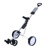 2020 new PGM Golf three-wheeled golf cart light folding bag trolley trolley supplies easy carry and fold