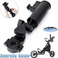 Golf Universal Umbrella Holder Adjustable Angle Golf Trolley Accessories Golf Pull Cart Holder