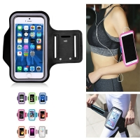 Running Bags Men Women Armbands Touch Screen Cell Phone Arms Band Phone Case Sports Accessories for 7 Plus Smartphone