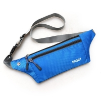 8Colors Professional Running Bag Waterproof Sports Chest Shoulder Bags Belt Bum Pouch Waistbag Hiking Zip Bag Fanny Pack