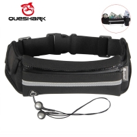 QUESHARK Running Waist Bag Fitness Fanny Packs Mobile Phone Holder Pocket  Jogging Sports Camping Hiking Belt Water Bottle Bags