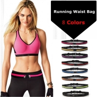 New Running Bag Waist Pocket Jogging Belt Sports Waterproof Travel Cycling Pack Bag Outdoor Phone anti-theft Pack Belt Sport Bag