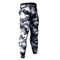 14 Colors Brand Camo Compression Pants Men Sport Wear Jogging Pants Men Sporting Leggings Training Pants Gym Man Running Shorts
