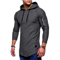 New Running Jacket Men Sports Fitness Long Sleeves Hooded Tight Sweatshirt Gym Training Jogging Jacket Coat Tactical Clothing