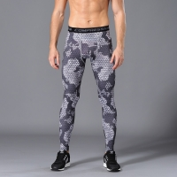 jogging pants Men Compression Running Tight pants Gym Bodybuilding Sport Trousers Camouflage Army Green Skinny Leggings Fitness
