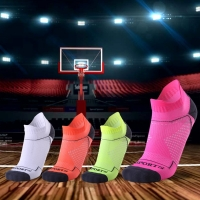 New Professional Men Women Sports Socks Breathable Running Fitness Basketball Cycling Compression Elastics Sport Sock for Adult