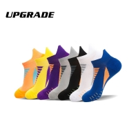 Men Coolmax Sports Socks Riding Cycling Basketball Running Sport Sock Summer Hiking Tennis Ski Man Women Bike Bicycle Slip