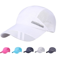 Adult running cap Mesh Hat Quick-Dry Collapsible Sun Hat Outdoor Sunscreen Baseball Cap caps for women  breathable breathable
