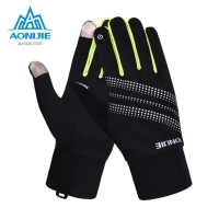 AONIJIE M50 Winter Thermal Outdoor Sports Men Women Touchscreen Fleece Gloves For Cycling Skiing Hiking  Jogging Reflective