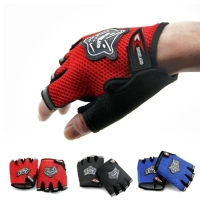 Outdoor Sports Half Finger Gloves for Men Women's Running Bicycle Riding Working Driving Hiking Camping Boating Yoga Fingerless