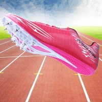 Tracking Spike Shoes Outdoor Student Training Athletic Shoes Men Track and Field Jumping Shoe Men Sport Spikes Shoes Sneakers 44