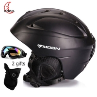 MOON MS-86 Skiing Snowboard  Helmet Winter adults Skateboard Equipment Sports Safety snow Ski Helmet Men Women with goggles