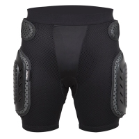 Propro Black Skateboarding Shorts Anti-Drop Armor Gear Hip Support Protection Sportswear Skating Cycling Skiing Shorts