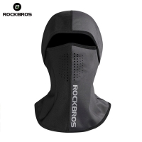 ROCKBROS Snow Skiing Bibs Thermal Face Masks Windproof Neck Scarf Snowboard Warmer Fleece Ski Headgear Motorcycle Bicycle Riding