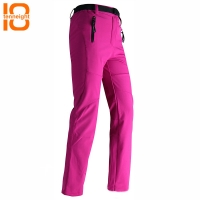 TENNEIGHT Women Warm Fleece Softshell Ski Pants Waterproof Outdoor sports Snowboard Pants Fishing Camping hiking Winter trousers