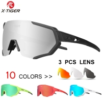 X-TIGER 2019 Polarized Cycling Sun Glasses Outdoor Sports Bicycle Glasses Men Women Bike Sunglasses Goggles Eyewear Myopia Frame