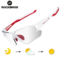 ROCKBROS Cycling Wrap Sunglasses Men's Photochromic Sport Glasses Outdoors UV400 Bicycle Outdoor Sports Eyewear Glasses Goggles