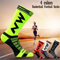 Unisex Breathable Quick Drying Nylon Bicycle Riding Cycling Socks Sports Socks Basketball Football Socks For Men And Women 39-45