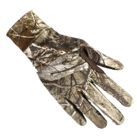 Outdoor Touch Screen Bionic Camouflage Full Gloves Hunting Reed Camouflage Gloves Anti-slip Fishing Shooting Gloves Elastic