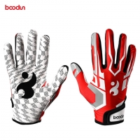 Boodun Baseball Batting Glove for Men Women Anti Slip PU Leather Softball Sport Gloves Baseball Hitter Gloves Equipment