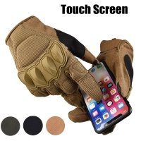 Touch Screen Full Finger Tactical Gloves Military Airsoft Hunting Assault Combat Army Outdoor Sport Motocycle Biking Gloves