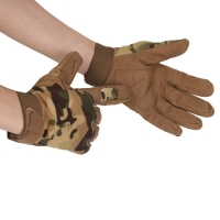 Outdoor Hunting Durable Camouflage Gloves Nylon+ Fiber Breathable Sports Cycling Full-fingers Gloves Lightweight2