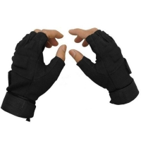 Brand  New Outdoor Winter Windproof Sports Fingerless Military Tactical Hunting Riding Gloves New