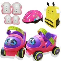 Entry Level Baby Roller Skate With Safety Off Button Resistance Material And Free Sliding