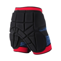 Adult Men Women Protective Hip Butt Pad Padded Shorts Ski Skate Snowboard  Activity Shorts Size S M  L