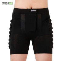 Children Skateboarding Shorts Adult Downhill Motorcycle Protection Gear MTB Soft Pad Hip Butt Short Ski Snowboard Skating Shorts