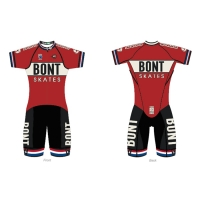 Original Bont Skates Body Suits 2018 RETRO NEO SUIT Professional Speed Skating Skates Clothes T-shirt Coverall For Patines