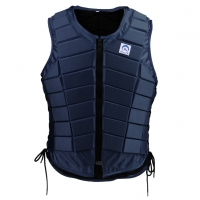 Adults Kids Equestrian Protective Vest Horse Riding Vest Body Protector Safety Waistcoat Dark Blue